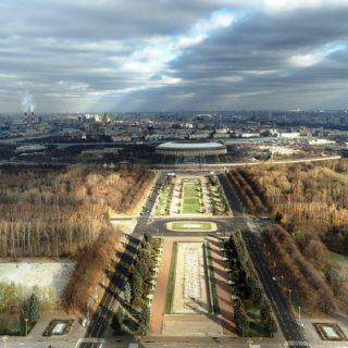 Воробьевы горы - место Силы в Москве