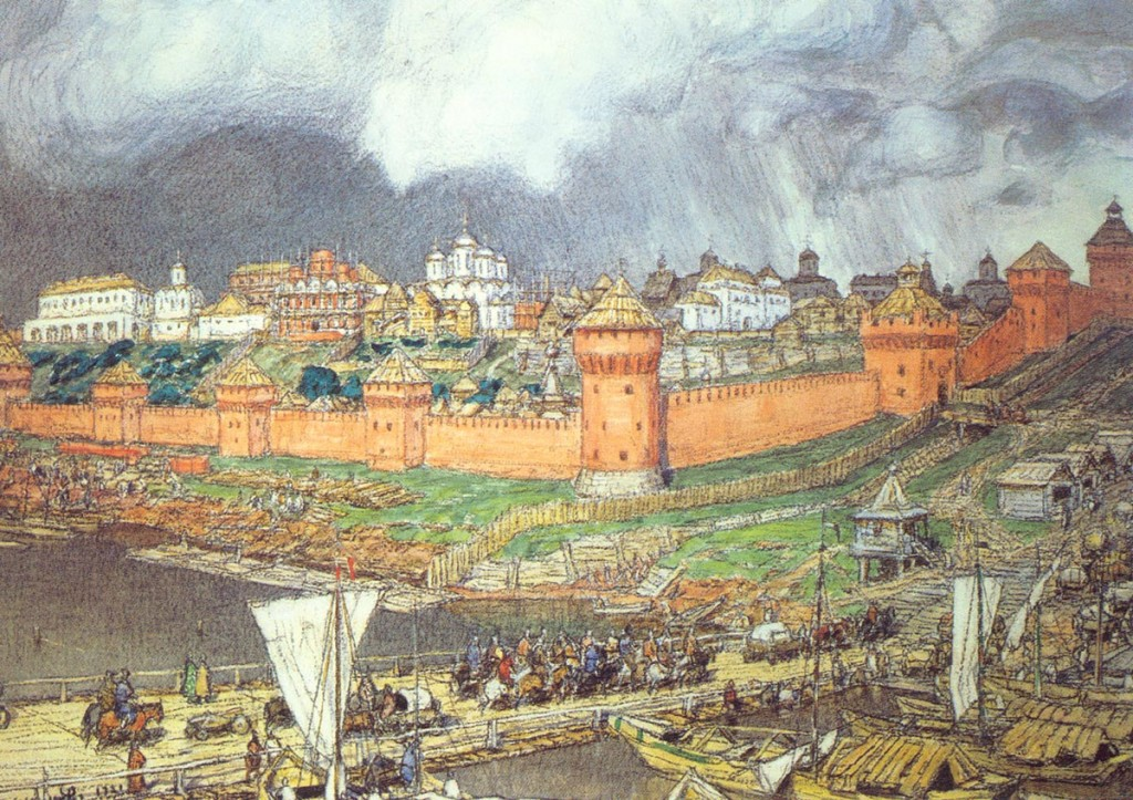 Кремль при Иване III
