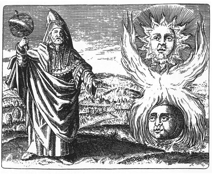 Астролог и алхимик Гермес Трисмегист