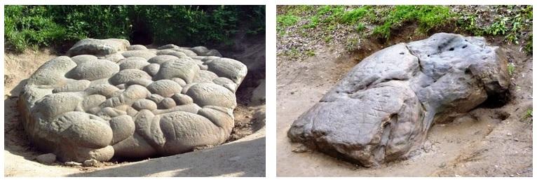 Девичий Камень и Гусь-Камень