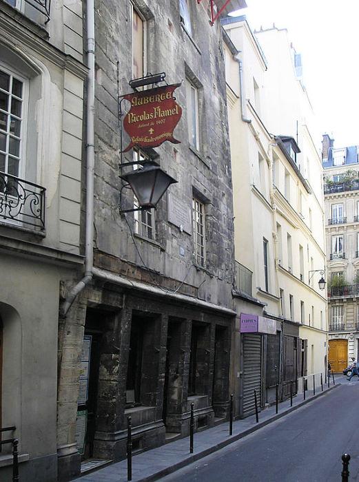 Дом Николя Фламеля в Париже считается старейшим зданием города