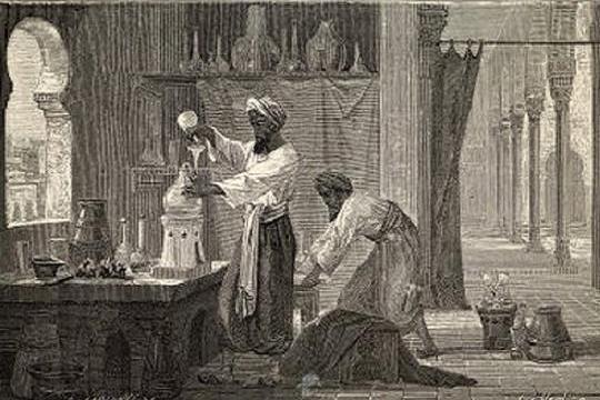 Персидский алхимик Джабир бин Хайян