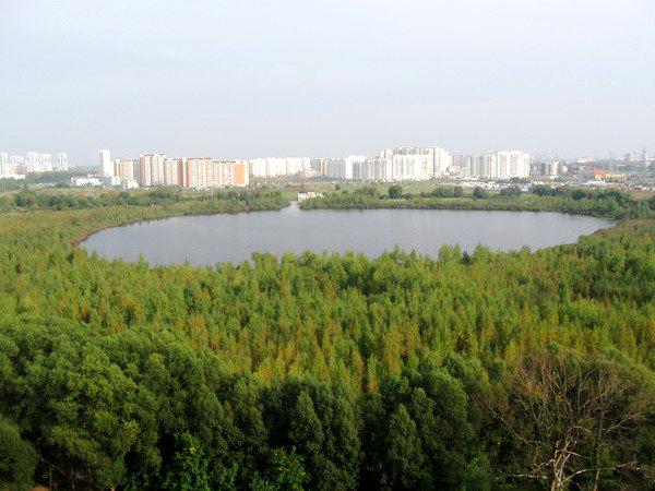 Целебная вода Московских озер