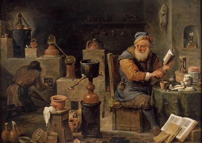 Врач, алхимик, астролог и, по совместительству отравитель, на службе у Ивана Грозного Елисей Бомелий