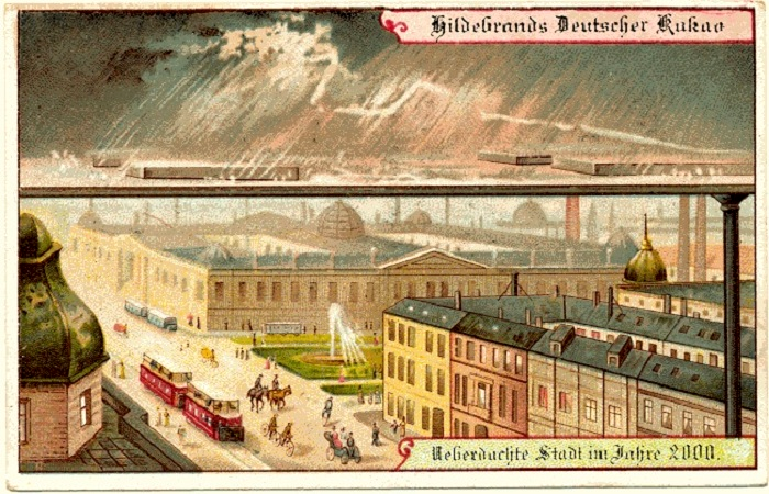 Город, закрытый навесом от любых погодных катаклизмов