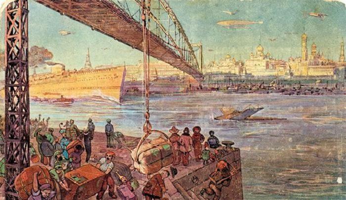 Москва-река сделалась мировым торговым портом