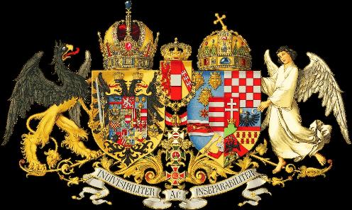 Австро-Венгрия (Герб, крона, почтовые марки, ордена), 1867—1918