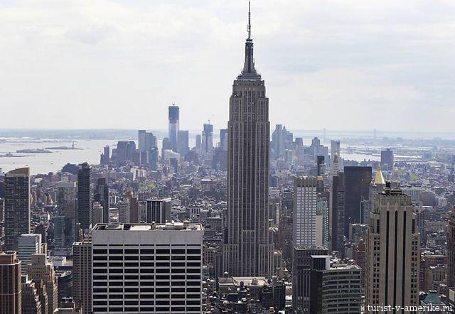 Эмпайр Стейт Билдинг Нью-Йорке (построен в 1931 г.)