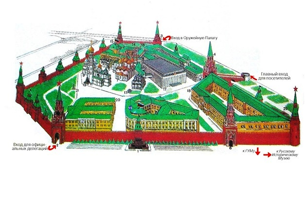 Геометрия Кремля