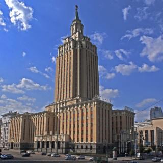 Тайны Московских Высоток Гостиница «Ленинградская»