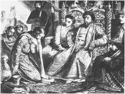 Князь Андрей Александрович в Орде