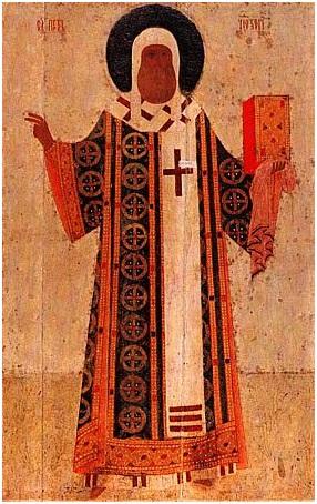 Митрополит Петр-икона