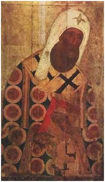Митрополит Петр - икона