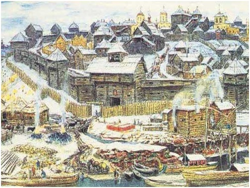 Москва в начале 14 века