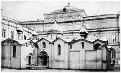 Собор Спаса на Бору в Кремле