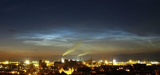 Атмосферное явление - феномены над москвой