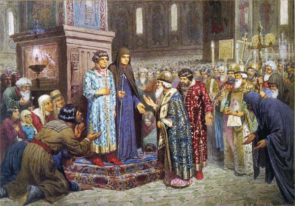 Избрание Михаила Романова