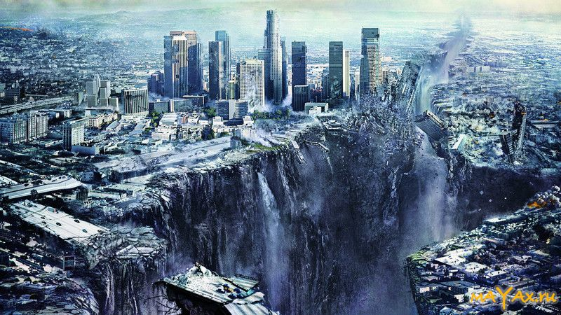 Картинка алармистских предсказаний «провала» Москвы в «подземное море»