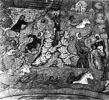 Славянские фрески о Великом потопе