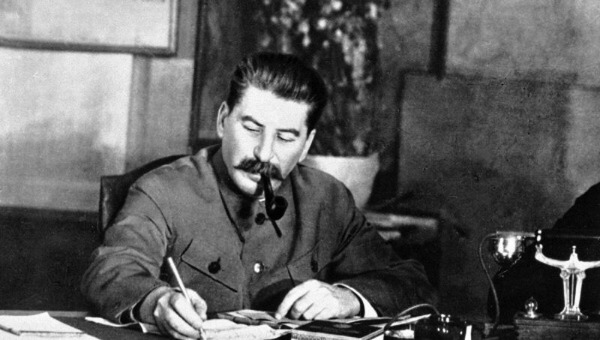 Сталин в Кремле в 1941 году