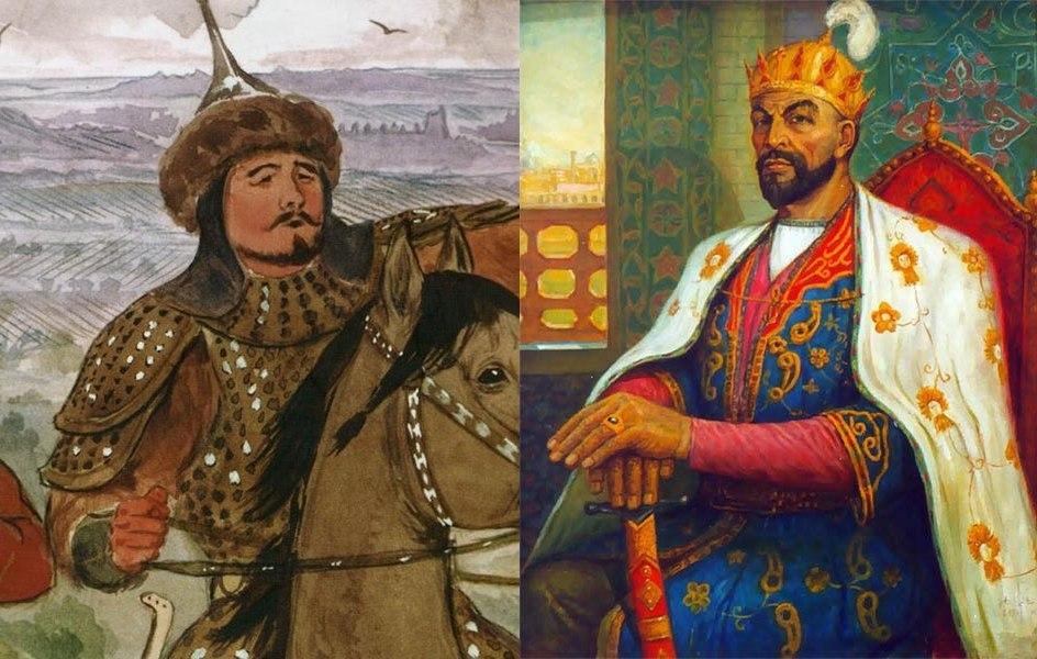 Тохтамыш и Тамерлан