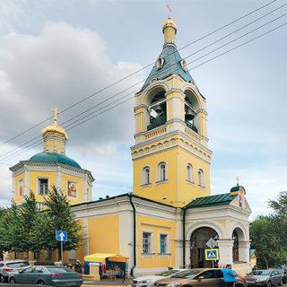 Храм Ильи Пророка во 2-м Обыденском пер., 6, построили на месте капища Перуна