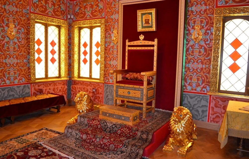Престольная палата – современная реконструкция