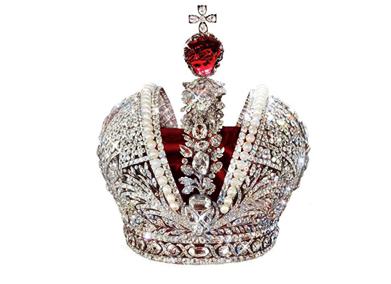 Большая корона Российской империи. 18 век