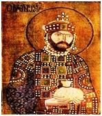 Византийский император Константин IX Мономах