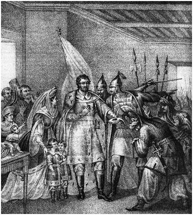 Князья и бояре вызываются возвратить Василию Тёмному великокняжеский престол, 1446 год