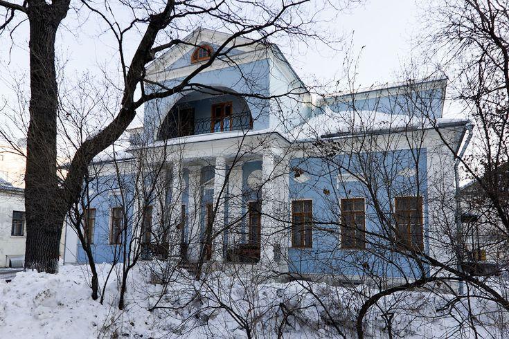 Старинная усадьба Струйских