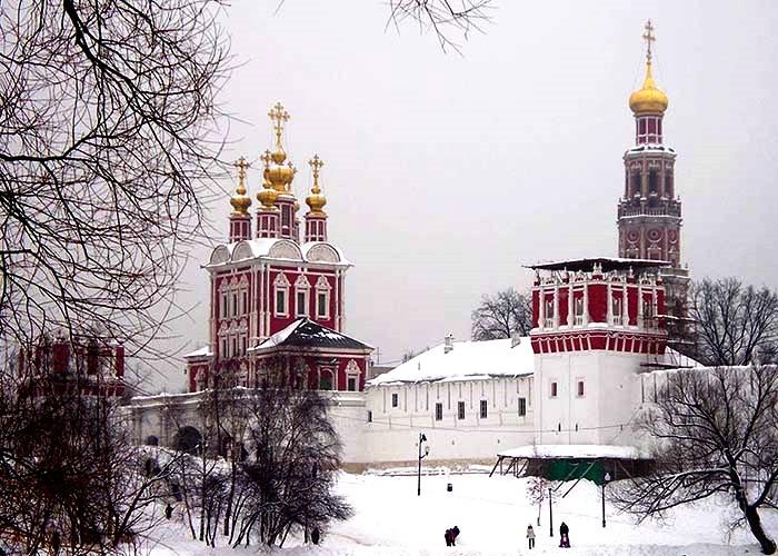 Новодевичий монастырь – самый красивый в Москве
