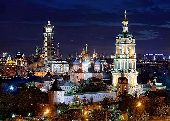 Новоспасский монастырь появился по причине переноса Спасского монастыря из Московского кремля