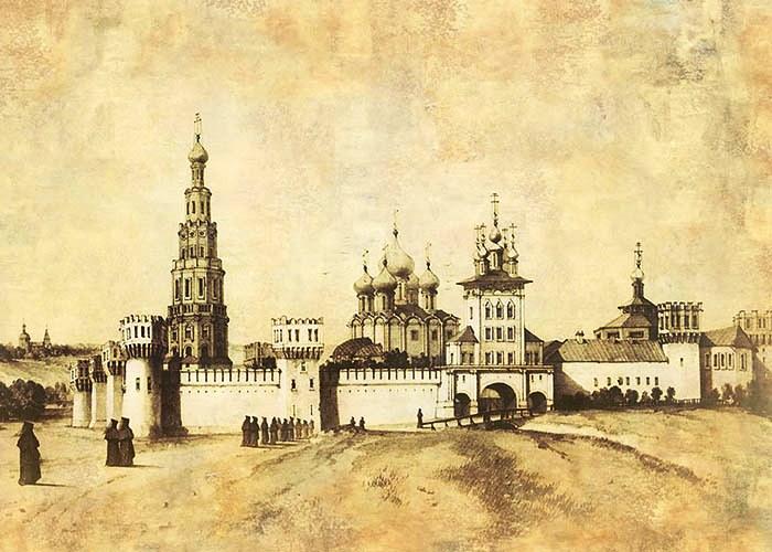 Самые красивые монастыри Москвы