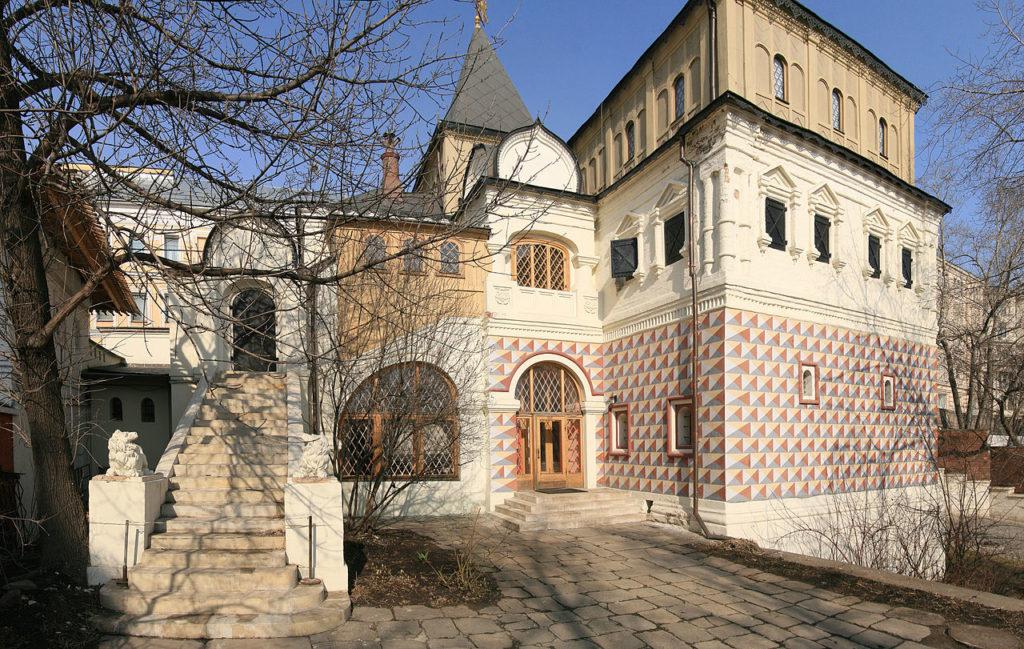 Палаты бояр Романовых в Зарядье (двор)