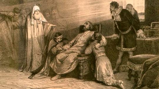 Смерть царя Бориса