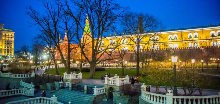 Александровский сад – целебное место Москвы